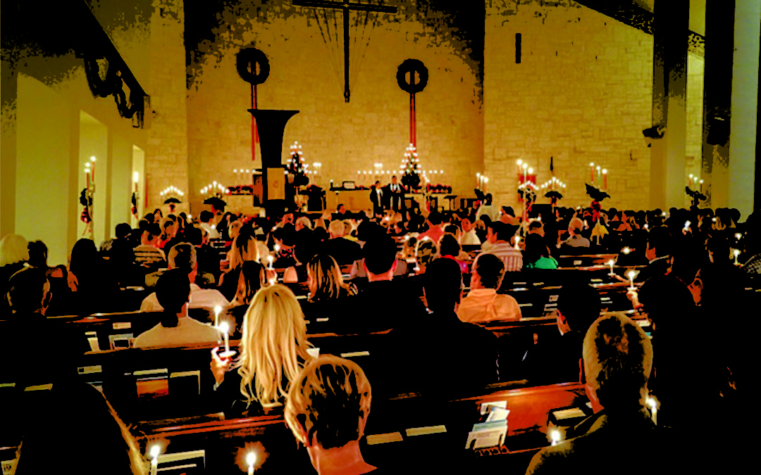 Christmas Eve Candlelight Services 6 & 9 P.M.
