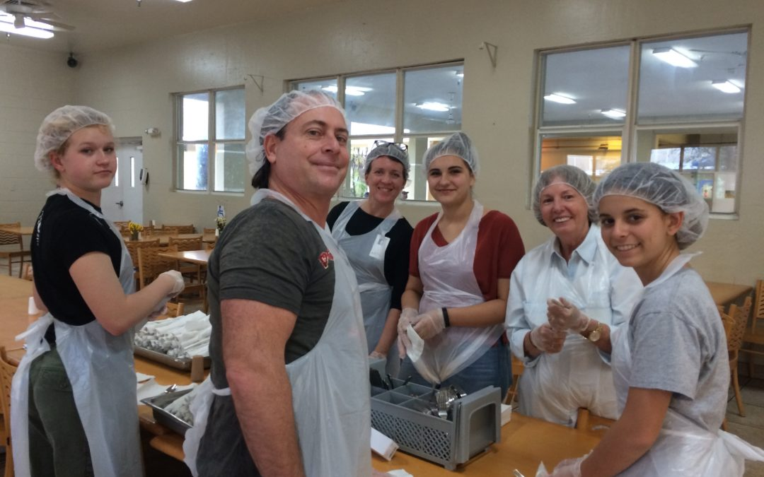 Chapman Partnership Homeless Feeding