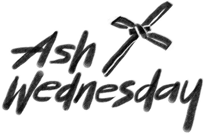 Ash Wednesday Service 7pm @ McArthur Chapel