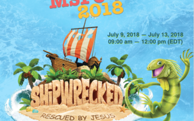 Vacation Bible School July 9-13, 2018